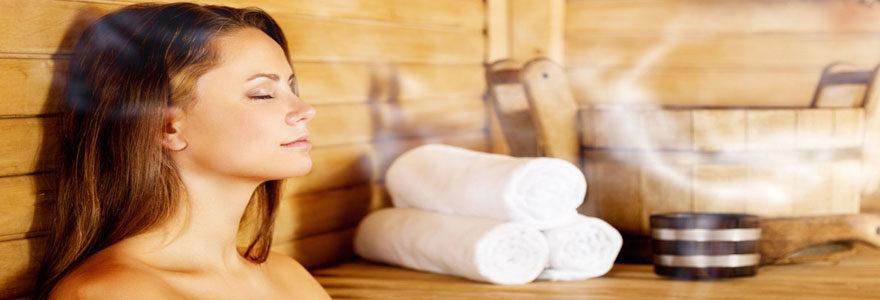 sauna à domicile