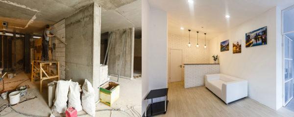 Rénovation personnalisée d'appartement
