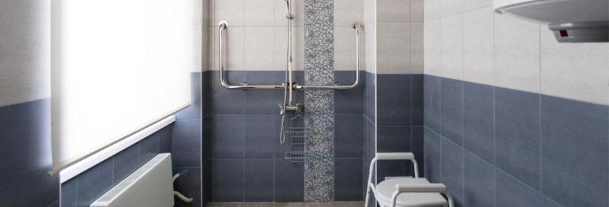 douche sécurisée